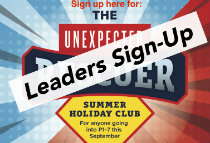 Holiday Bible Club – Leaders Sign Up